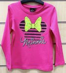 Disney Minnie Child T-Shirt Long Sleeve with Sequin 7 Year
