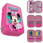 Disney Minnie Pencilcase (filled, 3 levels)
