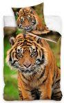 Tiger Bedlinen 140×200 cm, 70×90 cm