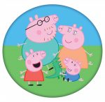 Peppa Pig Shaped Pillow, Cushion