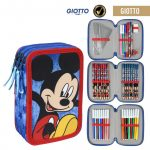 Disney Mickey Pencilcase (filled, 3 levels)