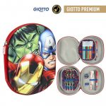 Avengers Pencilcase (filled) 3D