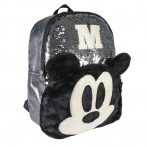 Disney Mickey 3D Fashion bag, Plush, with Sequin 40 cm