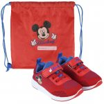 Disney Mickey Street shoes with gym bag 21-27