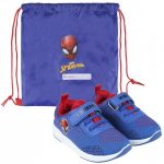 Spiderman Street shoes with gym bag 23-30