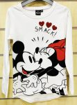 Disney Minnie Sequined Kids Long Sleeve T-Shirt 10-14 Years