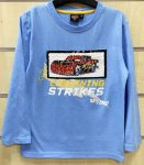 Disney Cars Reversible Child T-Shirt Long Sleeve with sequin 2-7 years