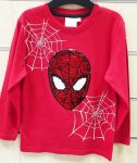 Spiderman Reversible Child T-Shirt Long Sleeve with sequin 2-7 years