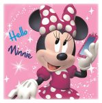 Disney Minnie Magic towel 30*30 cm