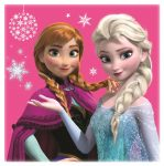 Disney Frozen Magic towel 30*30 cm