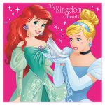 Disney Princess Magic towel 30*30 cm
