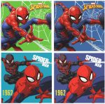 Spiderman Facetowel, handtowel 30*30 cm