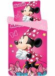 Disney Minnie Bedlinen 140×200 cm, 70×90 cm