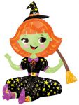 Witch Foil Balloon 53 cm