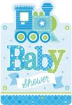 First Birthday Party Invitation Card + Envelope (8 pieces)