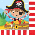 Pirate Napkin (16 pieces) 33*33 cm