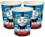 Thomas and Friends Paper Cup (8 pieces) 266 ml