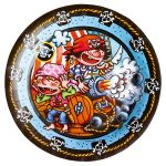 Pirate Paper Plate (8 pieces) 23 cm