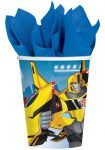 Transformers Paper Cup (8 pieces) 266 ml