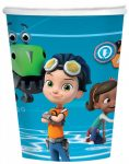 Rusty Rivets Paper Cup (8 pieces) 250 ml