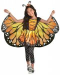 Monarch Butterfly Costume 3-4 Year