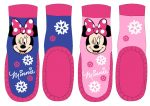 Disney Minnie Leather-Soled Socks