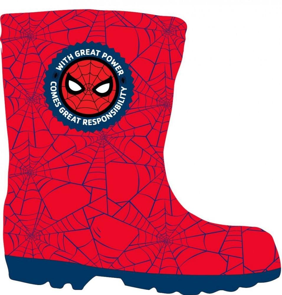 92229b502ec Spiderman Rubber Boots 25-34 - Javoli Disney Licensed Online Store