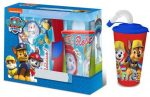 Paw Patrol Sandwich Box + Cup with Straw Set