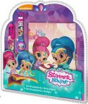 Shimmer and Shine Diary + 6-color pen + watch