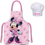 Disney Minnie Child Apron set (2 pieces)