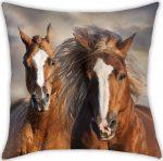 The Horses Pillow, Cushion 40*40 cm