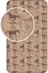 The Horses Fitted Sheet 90*200 cm