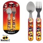 Disney The Incredibles Cutlery set (2 pieces)