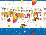 Happy Birthday Tablecover 120*180 cm