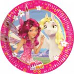 Mia and Me Paper Plate (8 pieces) 19,5 cm