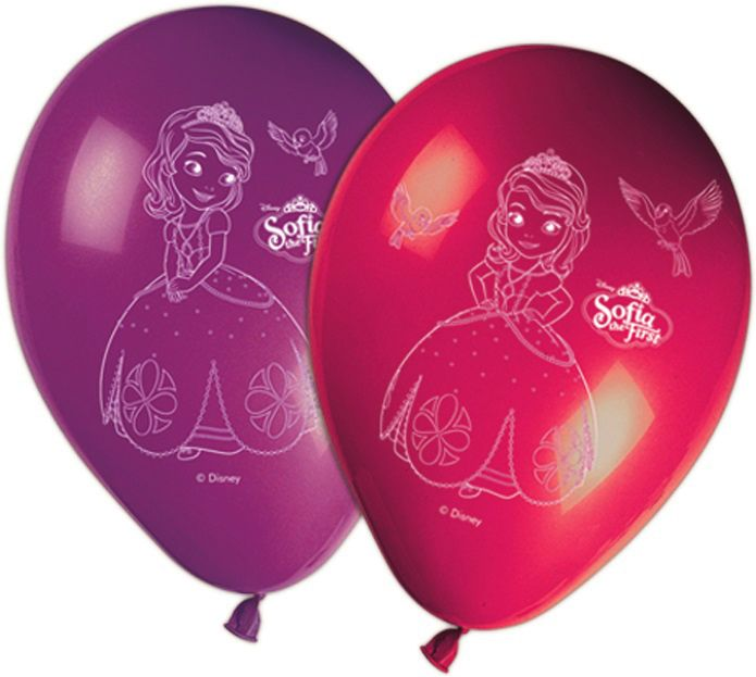 Disney Sofia Balloon (8 pieces) - Javoli Disney Licensed Online Store 1225a1ce47