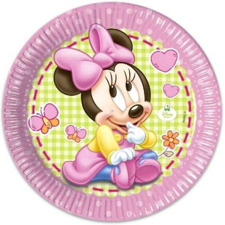 Disney Minnie Paper Plate (8 pieces) 23 cm - Javoli Disney Licensed Online  Store 2b3edac193