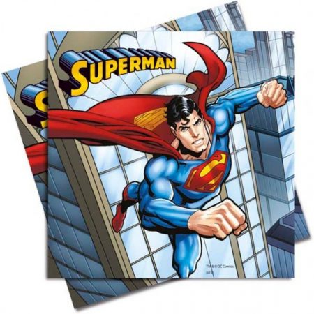Superman Napkin (20 pieces) - Javoli Disney Licensed Online Store 3a2fe908b7