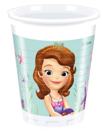 Disney Sofia Cup Plastic (8 pieces) 200 ml - Javoli Disney Licensed ... 0264a2328a