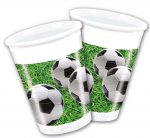 Football Party, Cup Plastic (8 pieces) 200 ml