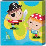 Pirate Napkin (20 pieces)