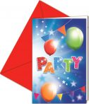 Fabulous Party Invitation Card (6 pieces)