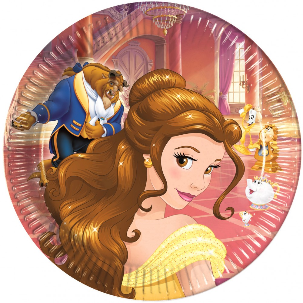 Disney Princess Paper Plate (8 pieces) 23 cm - Javoli Disney ... 7fb4fcb67f