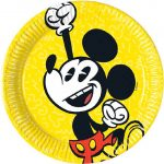 Disney Mickey Super Cool Paper Plate (8 pieces) 19,5 cm