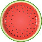 Watermelon Paper Plate (8 pieces) 23 cm