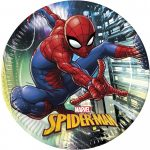Spiderman Team Up, Paper Plate (8 pieces) 23 cm