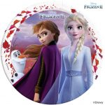 Disney Frozen II Paper Plate (8 pieces) 23 cm