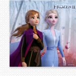 Disney Frozen II Napkin (20 pieces)
