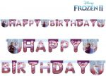 Disney Frozen II Happy Birthday Banner 200 cm