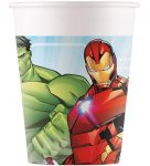 Mighty Avengers Cup Plastic (8 pieces) 200 ml FSC